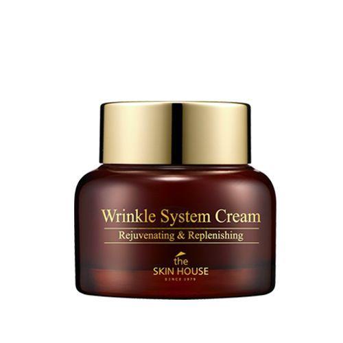 Купить Крем с аденозином и скваленом The Skin House, Wrinkle System Cream, Южная Корея