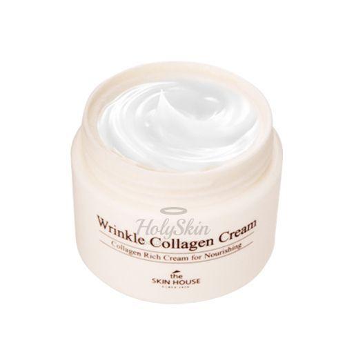 Купить Крем с Коллагеном The Skin House, Wrinkle Collagen Cream, Южная Корея