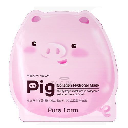 Pure Farm Pig Collagen Mask Tony Moly отзывы