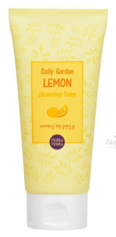 Daily Garden Lemon Cleansing Foam Holika Holika отзывы