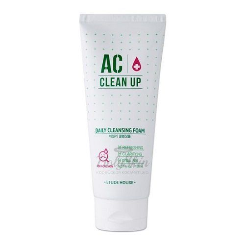 AC Clean Up Daily Acne Cleansing Foam Etude House отзывы