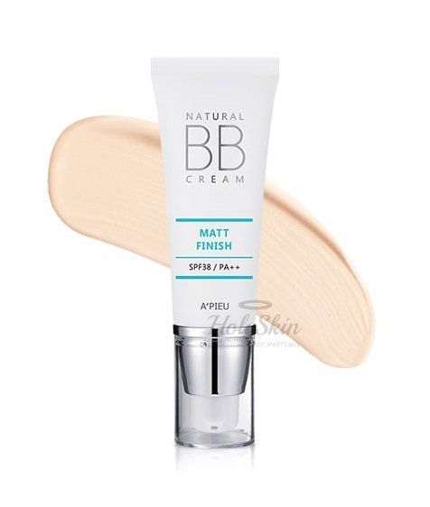 Natural Matt Finish BB Cream A'Pieu