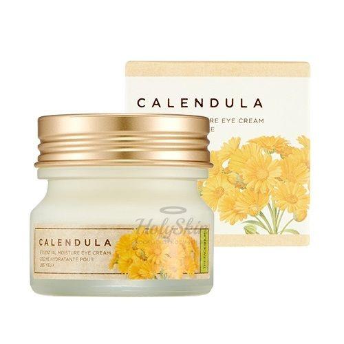Увлажняющий крем с календулой для кожи вокруг глаз The Face Shop Calendula Essential Moisture Eye Cream фото