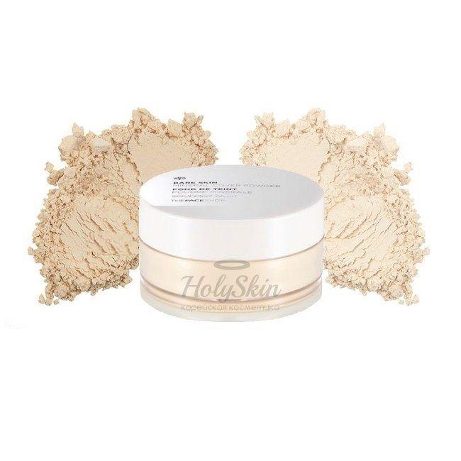 Купить Рассыпчатая матирующая пудра The Face Shop, Mineral Cover Powder, Южная Корея