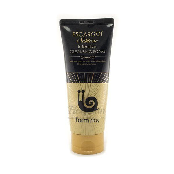Escargot Noblesse Intensive Cleansing Foam Farmstay купить