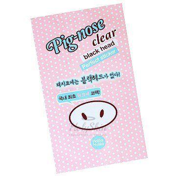Очищающая полоска для носа Holika Holika — Pig-Nose Clear Black Head Perfect Sticker 1p