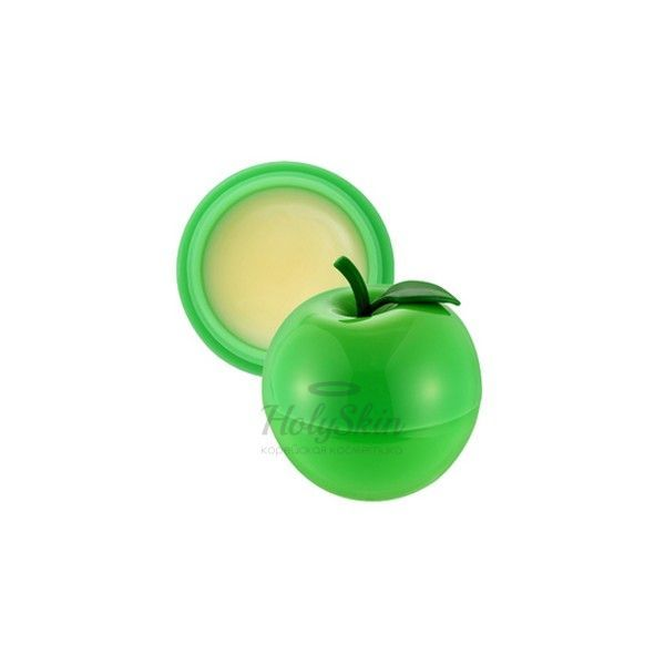 Mini Green Apple Lip Balm Tony Moly купить