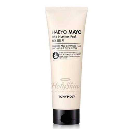Купить Питающая маска для волос Tony Moly, Haeyo Mayo Hair Nutrition Pack, Южная Корея