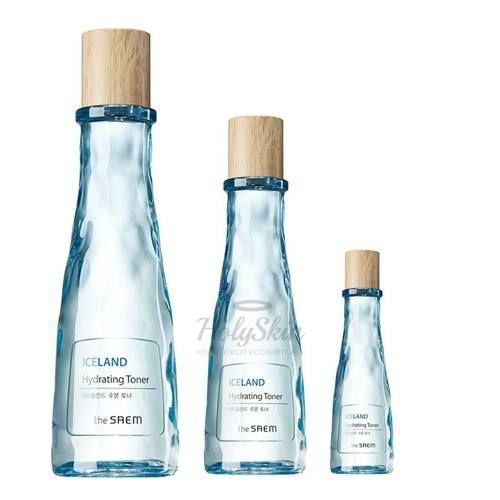 Тонер с глубоководной водой The Saem — Iceland Hydrating Toner