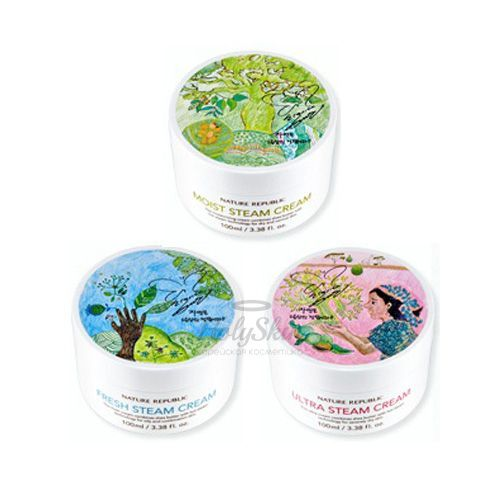 Ultra Steam Cream Nature Republic