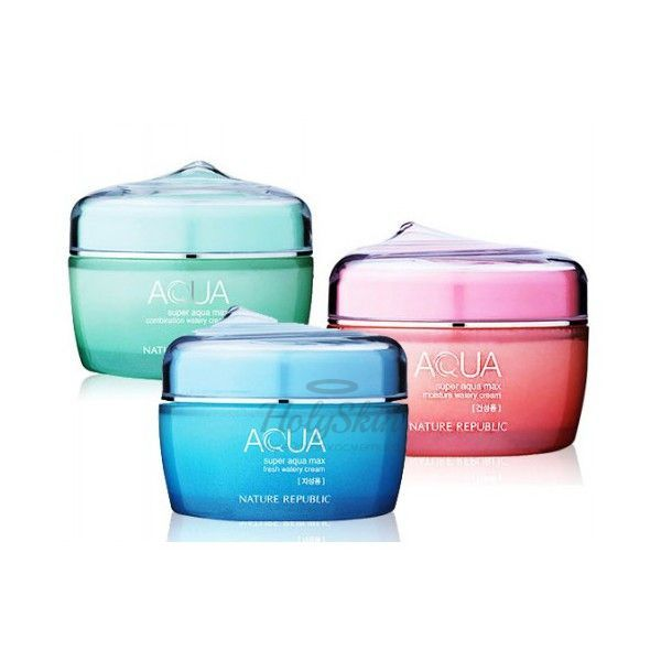 Super Aqua Max Watery Cream Nature Republic отзывы