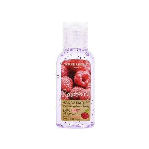 Hand and Nature Sanitizer Gel Nature Republic отзывы