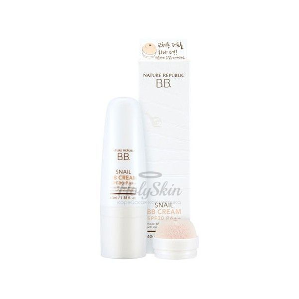 Snail BB Cream Nature Republic отзывы