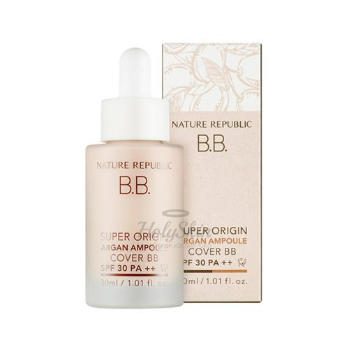 Super Origin Argan Ampoule Cover BB Nature Republic купить