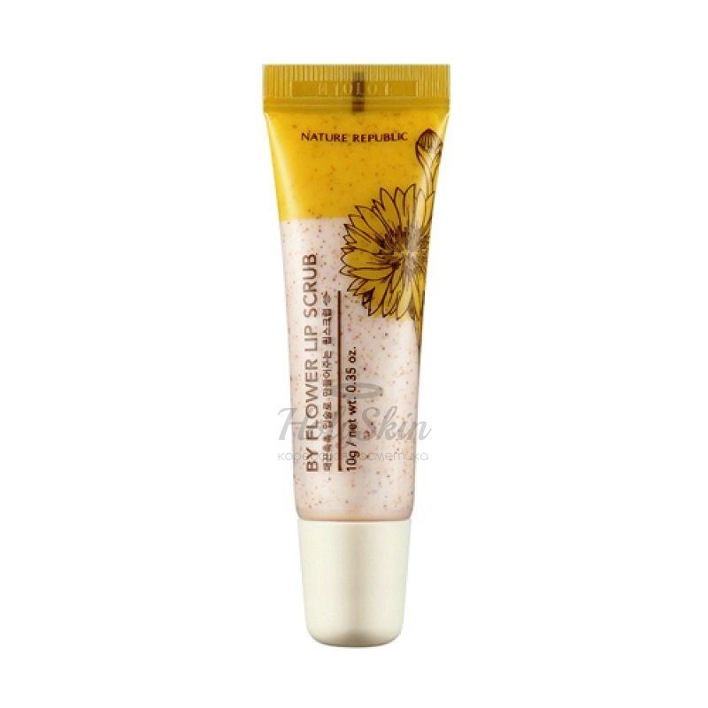 By Flower Lip Scrub Nature Republic