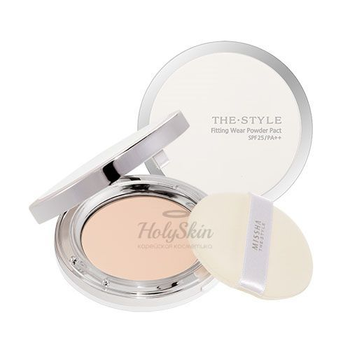 The Style Fitting Wear Powder Pact description