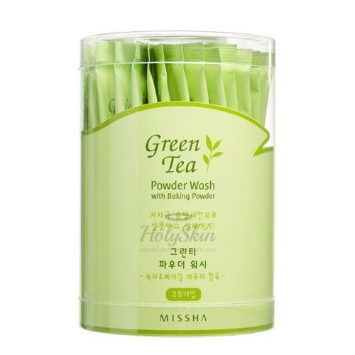 Green Tea Powder Wash With Baking Powder description