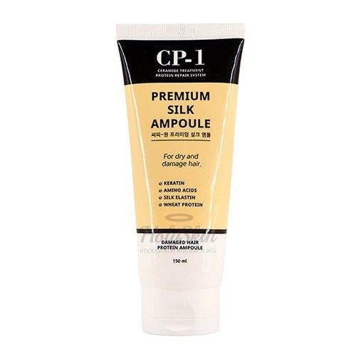 Купить Ампульная сыворотка для волос Esthetic House, CP-1 Premium Silk Ampoule 150ml, Южная Корея