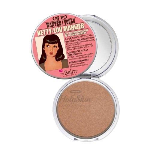 Купить Хайлайтер-шиммер для создания макияжа TheBalm, TheBalm Betty-Lou Manizer, США