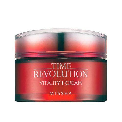 Купить Интенсивный антивозрастной крем для лица Missha, Time Revolution Vitality Cream, Южная Корея
