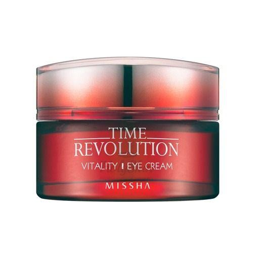 Купить Крем предназначен для ухода за кожей вокруг глаз Missha, Time Revolution Vitality Eye Cream, Южная Корея
