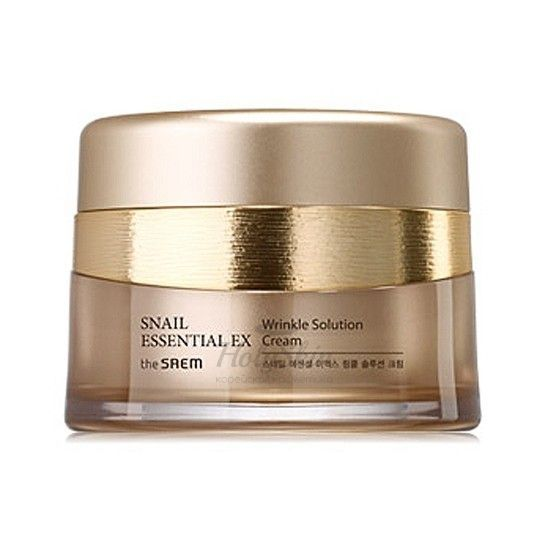 Snail Essential EX Wrinkle Solution Cream The Saem