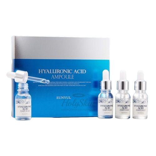 Набор ампульных сывороток с гиалуроновой кислотой Eunyul Eunyul Hyaluronic Acid Ampoule Set