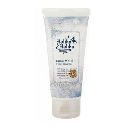 Snow White Foam Cleanser Holika Holika отзывы