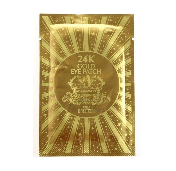 Urban Dollkiss Agamemnon 24K Gold Hydrogel Eye Patch купить