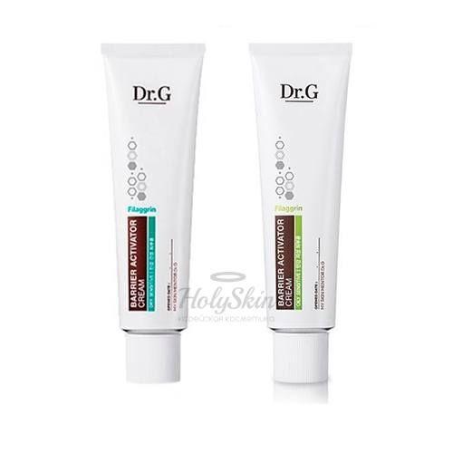 Защитный крем-барьер для сухой и чувствительной кожи Dr.G
