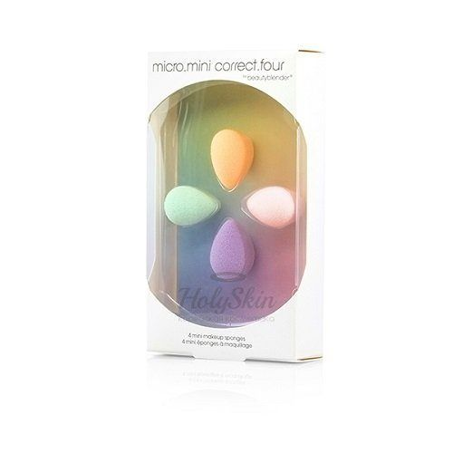 Набор из 4-х мини-спонжей Beautyblender — Beautyblender Micro Mini Correct Four