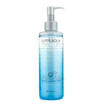 Super Aqua Mineral Cleansing Water Missha