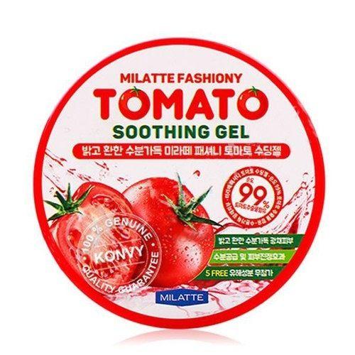 Многофункциональный гель с экстрактом томата Milatte, Fashiony Tomato Soothing Gel, Южная Корея  - Купить