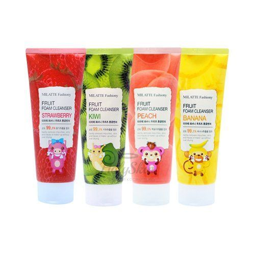 Milatte Fruit Foam Cleanser отзывы