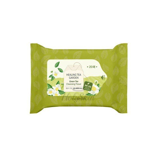 Healing Tea Garden Green Tea Cleansing Tissue 20 The Saem