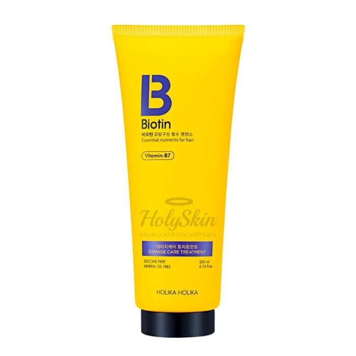 Biotin Damage Care Treatment Holika Holika отзывы