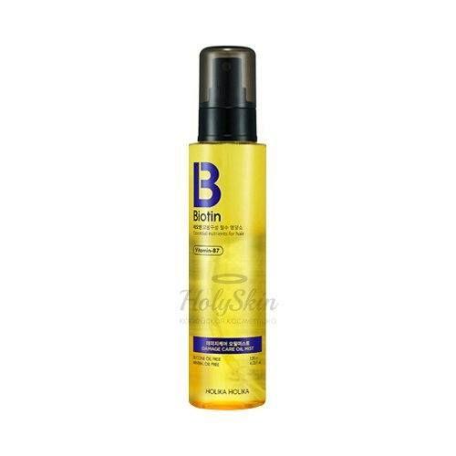Купить Масляный мист для волос Holika Holika, Biotin Damage Care Oil Mist, Южная Корея