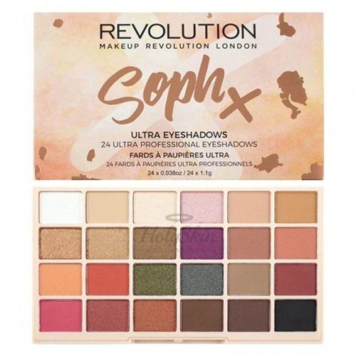 Палетка теней для век MakeUp Revolution — SophX Ultra Eyeshadows