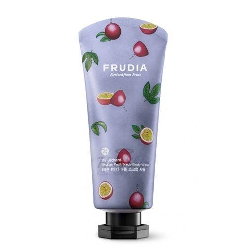 Купить Нежный скраб для тела Frudia, My Orchard Scrub Body Wash, Южная Корея