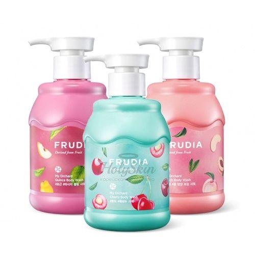 Купить Освежающий гель для душа Frudia, My Orchard Body Wash, Южная Корея