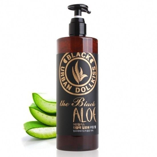 Urban Dollkiss The Black Aloe Soothing Gel description