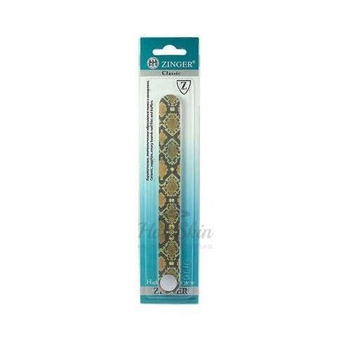 Купить Пилка для создания маникюра Zinger, Пилка наждак прямая Змея ЕА-305, Германия