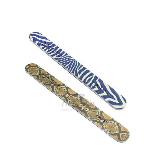 Пилка для создания маникюра Zinger — Пилка наждак прямая 150/220