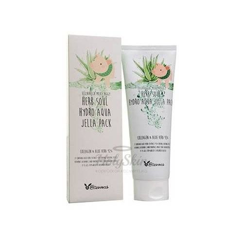 Купить Увлажняющая маска для лица Elizavecca, Herb Soul Hydro Aqua Jella Pack, Южная Корея