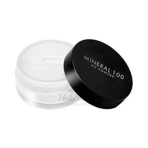 Минеральная финишная пудра A'Pieu Mineral 100 HD Powder фото