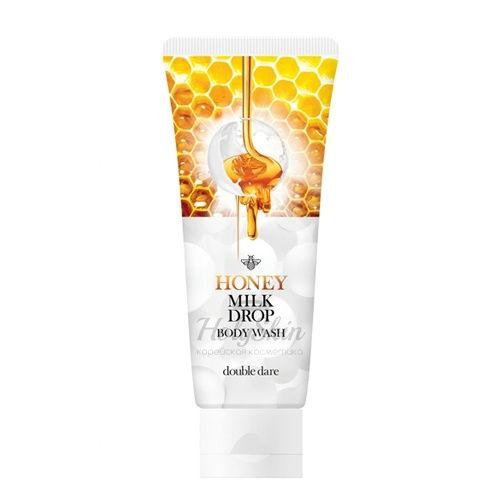 Нежный медовый гель с молочными гранулами для очищения тела Double Dare OMG!, Honey Milk Drop Body Wash, Южная Корея  - Купить