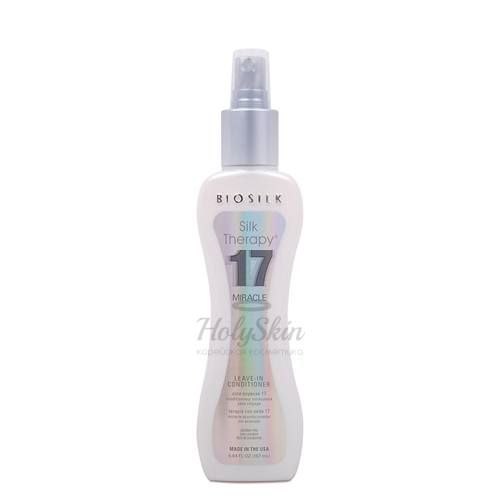 Купить Несмываемый кондиционер для волос BioSilk, BioSilk Silk Therapy 17 Miracle Leave-In Conditioner 167 ml, США