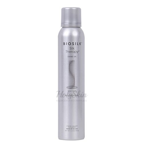 Купить Спрей блеск для волос BioSilk, BioSilk Silk Therapy Shine On Spray 150 g, США