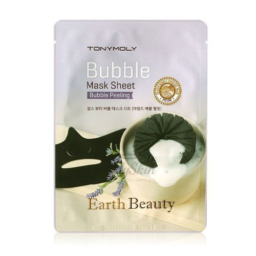 Earth Beauty Bubble Mask Sheet Tony Moly отзывы