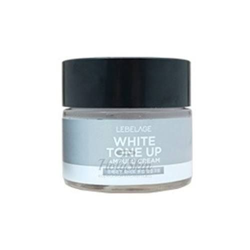 Купить Ампульный крем с молочными протеинами Lebelage, White Tone Up Ampule Cream, Южная Корея